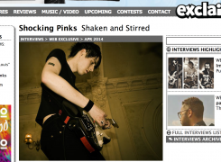 Shaken and Stirred: Exclaim interviews Shocking Pinks