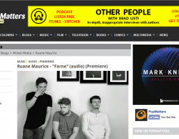 UK's Ruane Maurice premiere moody, summer banger 'Farne' on PopMatters | Album out Sep 9