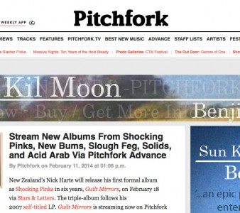Pitchfork Advance streams entire Shocking Pinks triple album!